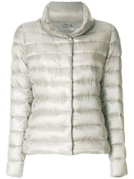 Herno jacket down jacket women nude cotton