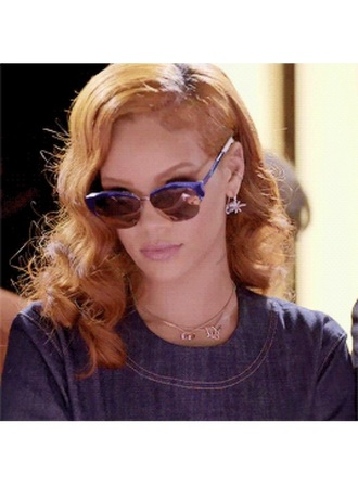 sunglasses rihanna mirrored sunglasses