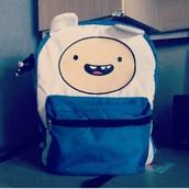 bag,adventure time,adventure,time,finn
