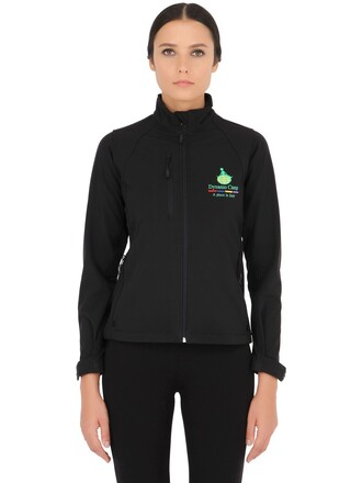 jacket casual shell soft black