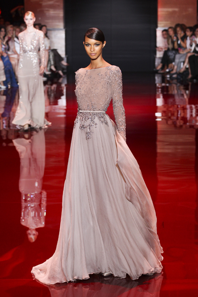 Free shipping Elie saab celebrity dresses kim kardashian dress scoop neckline appliques silk straight floor length midi dress-in Celebrity-Inspired Dresses from Apparel & Accessories on Aliexpress.com