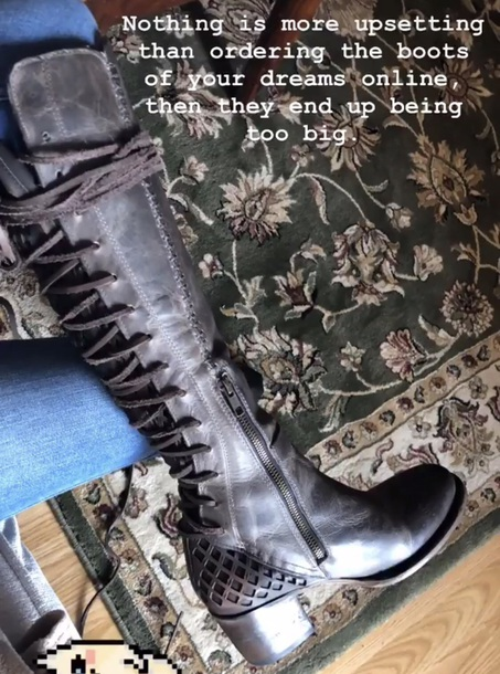 shoes high boots