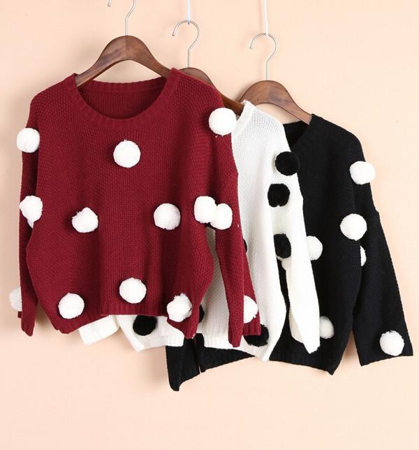 women sweater clothes warm shirt sweatshirt