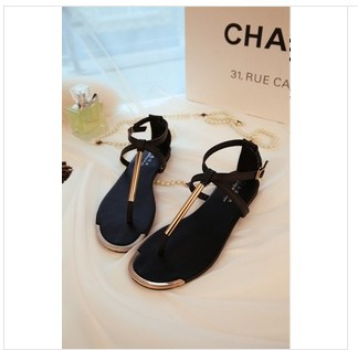 Free shipping014 European Grand Prix New Bohemian Roman sandals shoes clip toe flat sandals flip yet-in Sandals from Shoes on Aliexpress.com | Alibaba Group