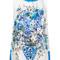 Dolce & gabbana - majolica print tank top - women - silk - 42, white, silk