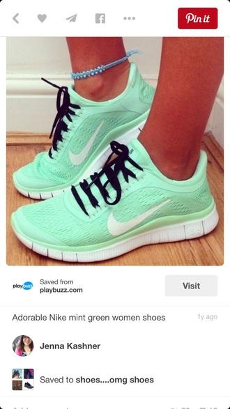 shoes mint nike shoes womens roshe runs