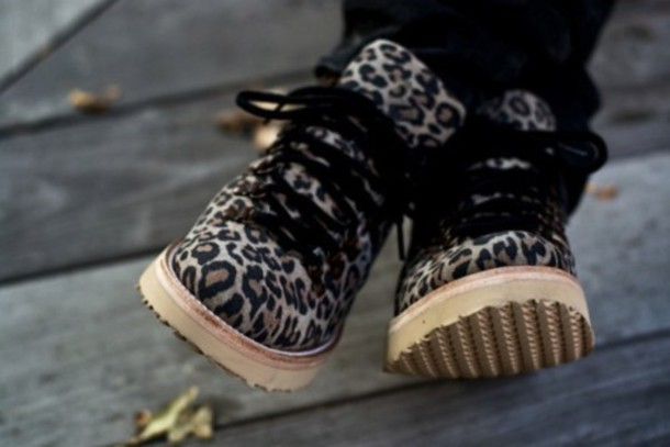 shoes leporard boots cute leopard print style