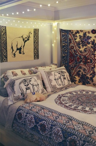 home accessory tapestry elephant