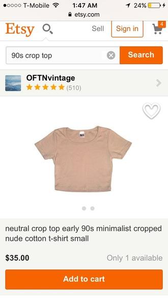 top nude top crop tops