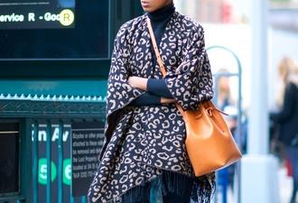 scarf bla leopard print leopard print scarf blanket scarf winter swag bucket bag blogger black girls killin it bag
