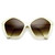 Womens Pentagon Designer Inspired Oversize Fashion Sunglasses 8908                           | zeroUV