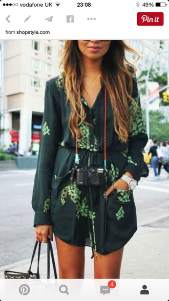 dress green playsuit jumpsuit summer summer dress floral dress floral green green dress summer holidays summer outfits fashion trendy latest fashion trends