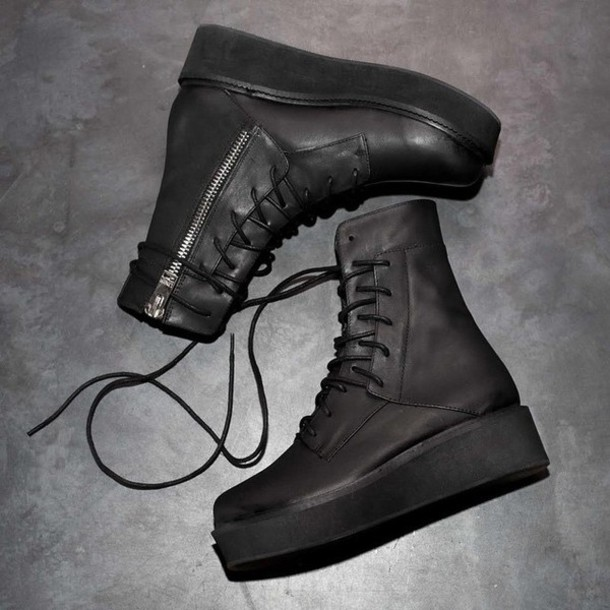 shoes grunge boots hipster