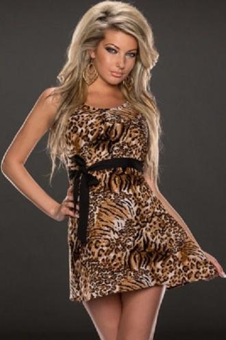dress skater leopard print dress wots-hot-right-now skater dress leopard print belted dress sexy dress party dress evening dress cocktail dress date night dress clubwear