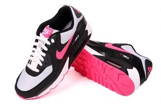 shoes pink black grey trainers air max nike nike air nike air max 1 nike air max 90 girly cute coral kicks nike sneakers sneakers hipster tumblr tumblr girl tumblr clothes tumblr shoes nike shoes with leopard print nike shoes 2007 nike air max 90 2007