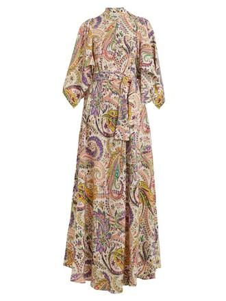 gown silk white dress