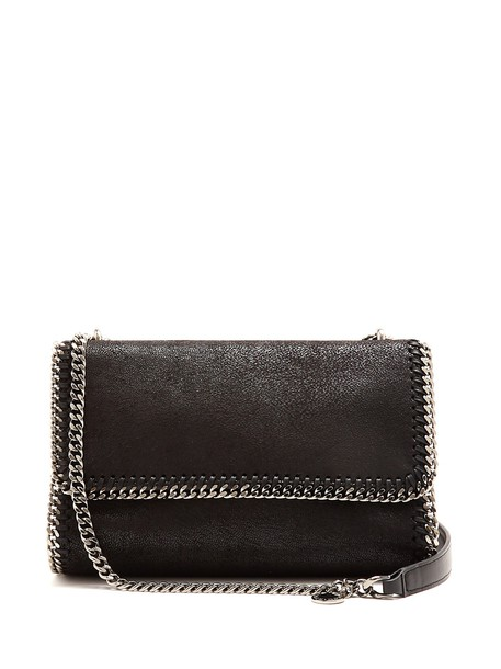 Stella McCartney bag shoulder bag suede black