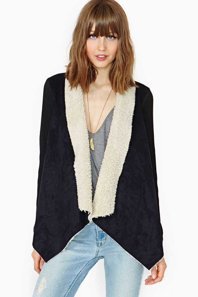 Drape Jacket in Clothes Jackets Coats at Nasty Gal