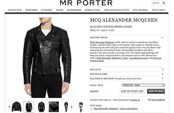 alexander mcqueen mcq jacket leather jacket