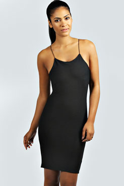 Lulu Strappy Bandage Dress at boohoo.com