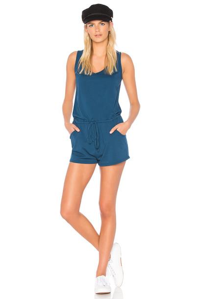 Bobi Supreme Jersey Romper in blue
