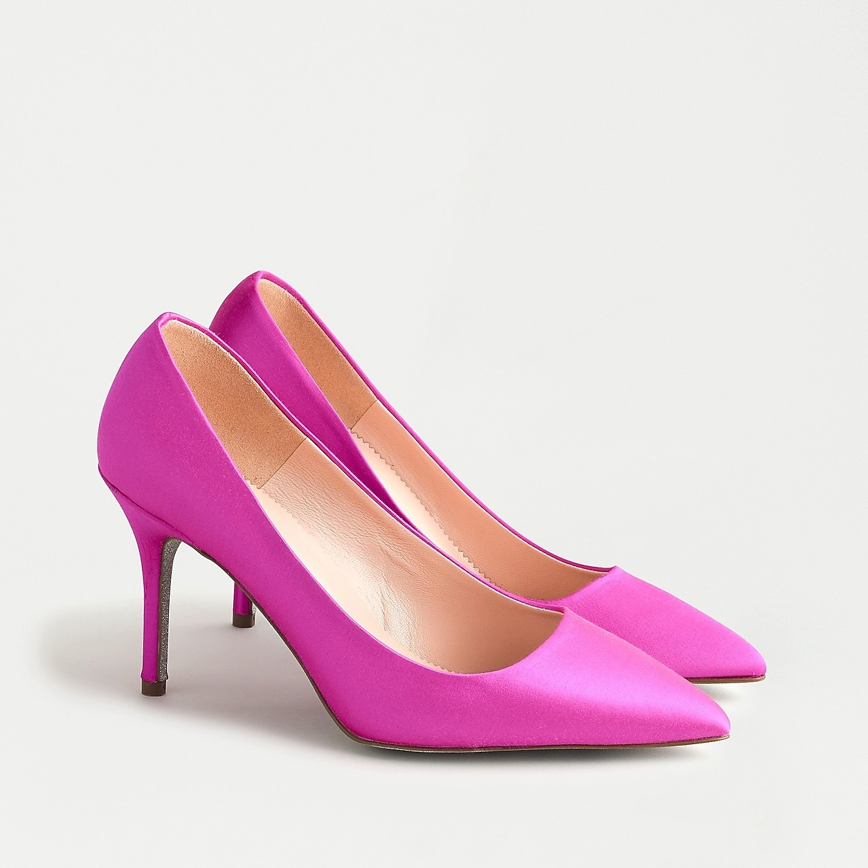 Elsie Pumps In Satin With Glitter Sole