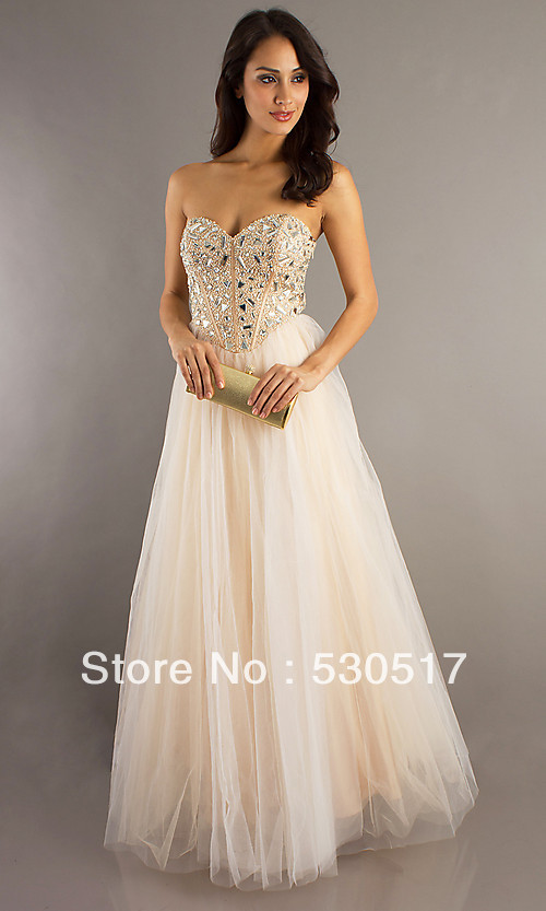 Plus size a line gold big triangle square crystal diamond full body sweetheart floor length tulle prom night party dress-in Prom Dresses from Apparel & Accessories on Aliexpress.com