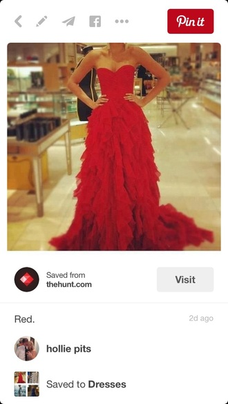 dress prom dress prom prom gown red dress style red prom dress cute cute dress