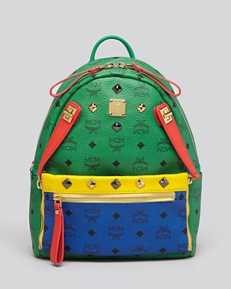 MCM Backpack - Dual Stark Pocket Small | Bloomingdale's