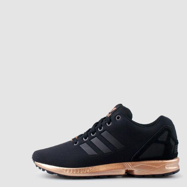 0e35e205c551 ... get shoes adidas shoes adidas rose gold zx flux adidas adidas zx flux  black sneakers black