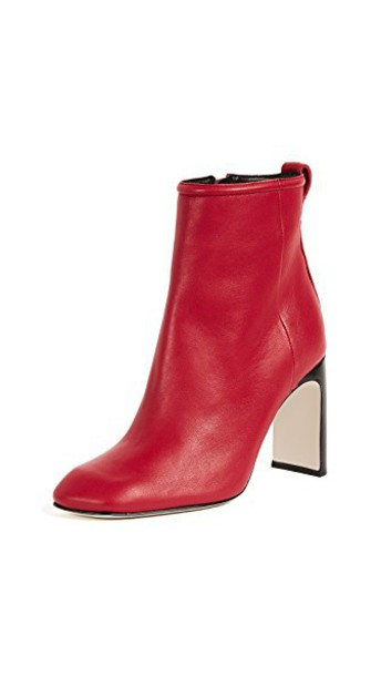 Rag & Bone booties red shoes