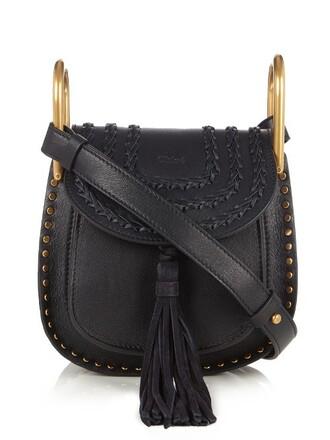 cross mini bag leather dark blue dark blue