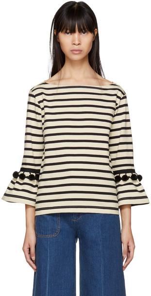 Marc Jacobs t-shirt shirt t-shirt white black top