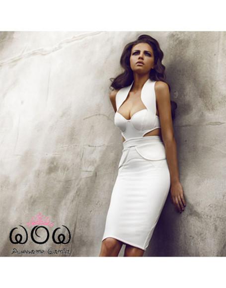 sweatheart white white dress backless backless dress