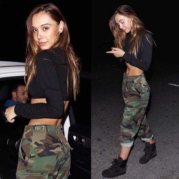 pants alexis ren camo pants shoes sneakers