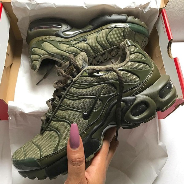 Womens Green Air Nike Olive Max Plus OPnk8w0X