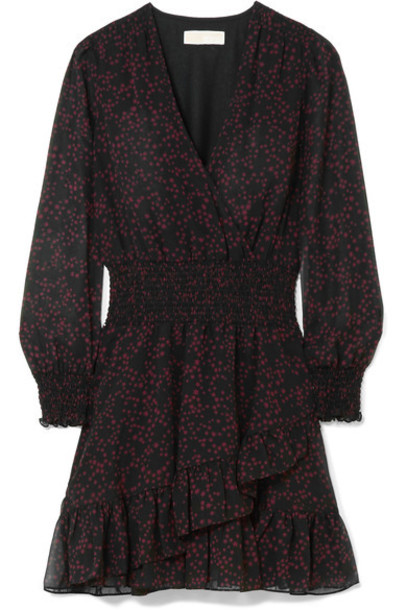 MICHAEL Michael Kors dress mini dress mini burgundy