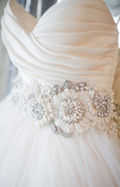 dress wedding white