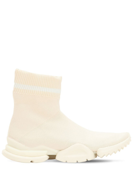 sneakers knit white shoes