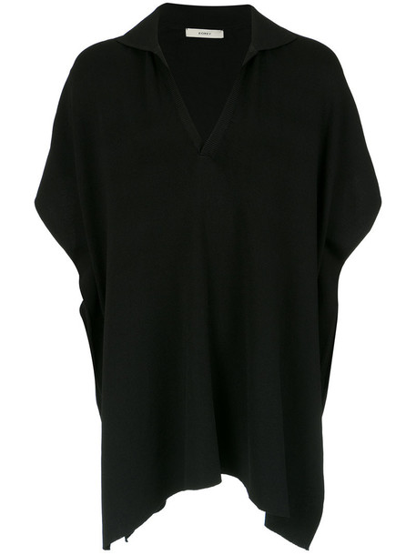 women black knit top