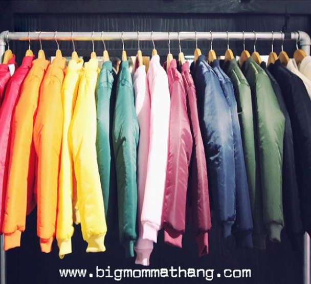 The what's your favorite color bomber jacket