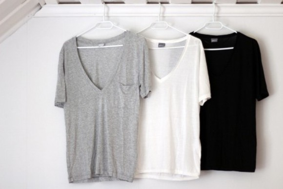 t-shirt grey clothes basic comfy big big t shirt