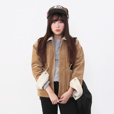 Holypink x newnew shearling jacket