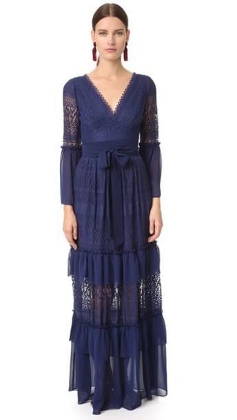 Temperley London Rope Waist Knit Vest - Admiral Blue