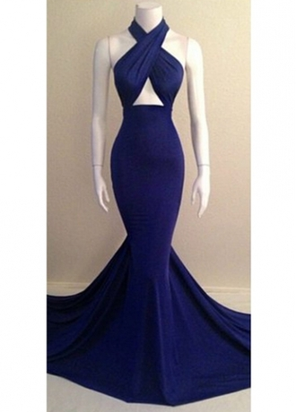 dress prom dress blue blue dress long dress