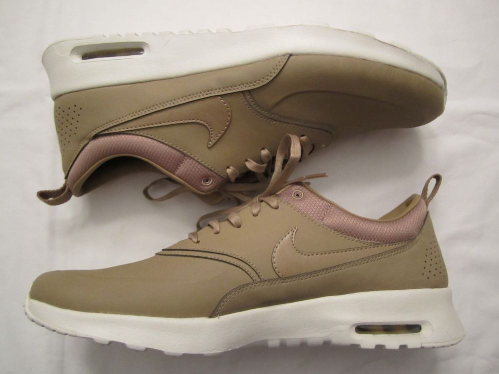WOMENS NIKE AIR MAX THEA PREMIUM DESERT CAMO 616723-201 SIZE 12 Kendall Jenner