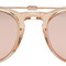 Garrett leight pink milwood clip-on sunglasses