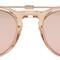 Garrett leight pink milwood clip-on sunglasses