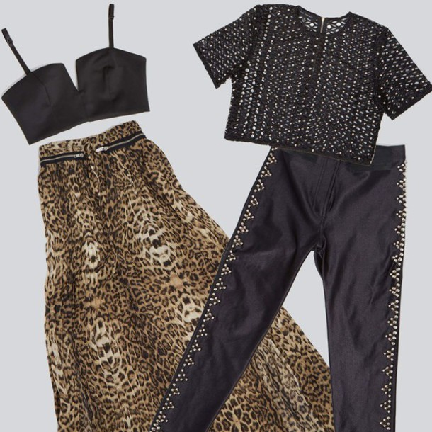 skirt leopard skirt zipped skirt maxi skirt