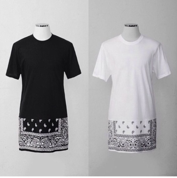 Swag Shirts Tumblr T-shirt Bandana Tyga Swag